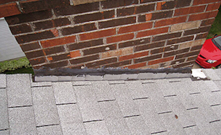 Roof Maintenance Plymouth MI - Renaissance Roofing - Chimney_Flashing