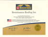 Certifications & Awards - Renaissance Roofing - Canton, Michigan - MasterElite_WeatherStopper_20151