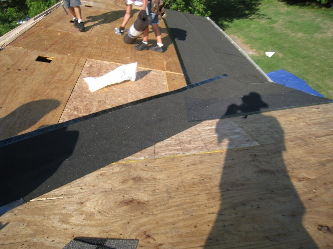 Roof Replacement Canton MI - Plymouth Roofing Installation | Renaissance Roofing - RoofDeckPrep2