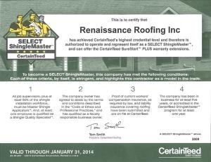 Certainteed Blog Renaissance Roofing