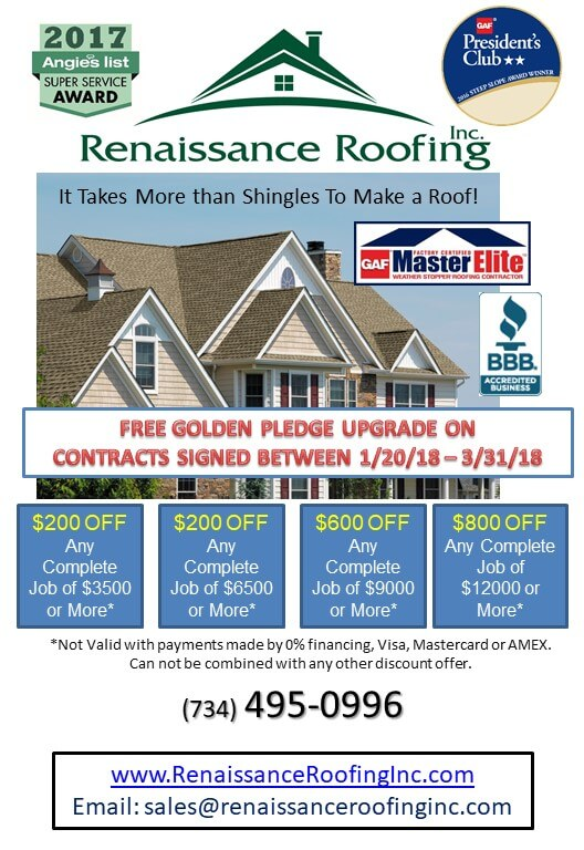 Spring Special 2018 - Free Golden Pledge Warranty Upgrade! - Blog - Renaissance Roofing - 2018_WINTER_promo_331