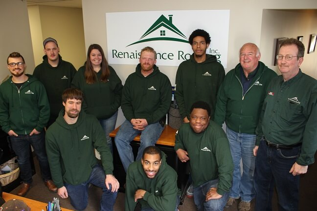 Renaissance Roofing: Residential Roofing in Plymouth, Northville & Ann Arbor - GroupPhoto